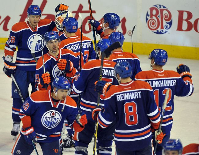 The Edmonton Oilers have renewed purpose after a decade of futility. (Courtesy of Walter