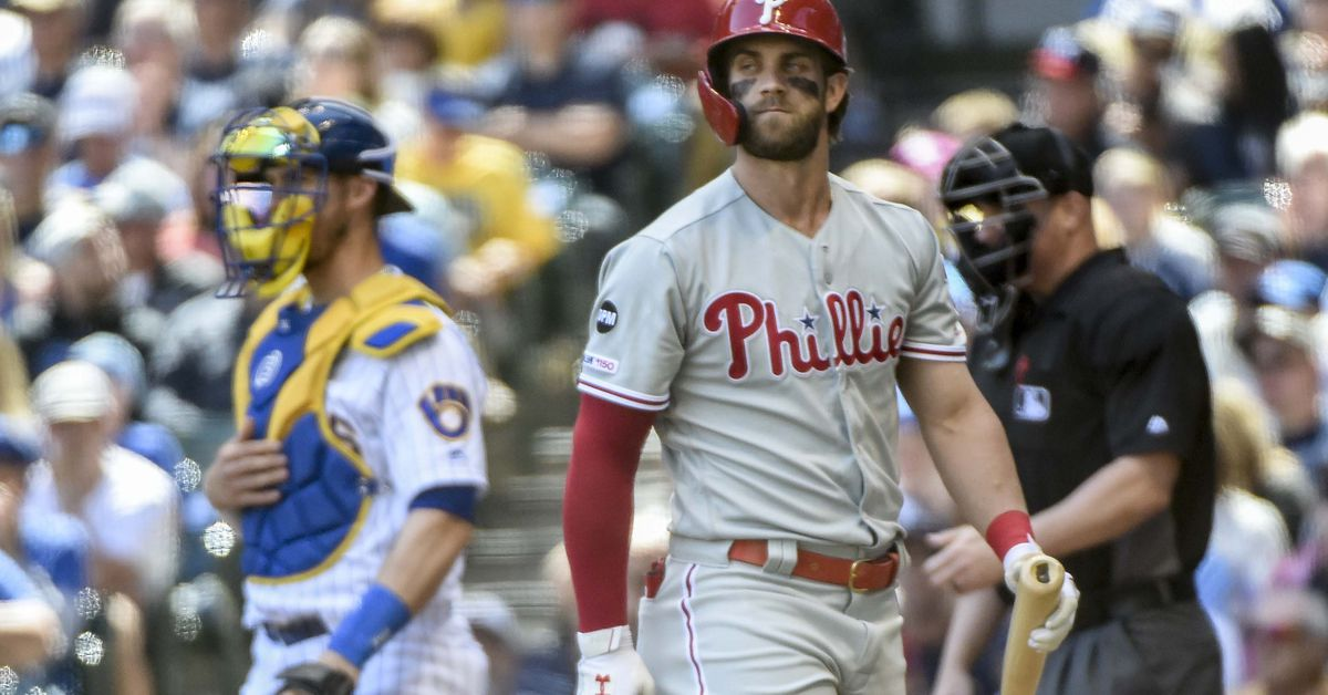2728d3d58 Bryce Harper s totally baffling 2019 season - The Good Phight