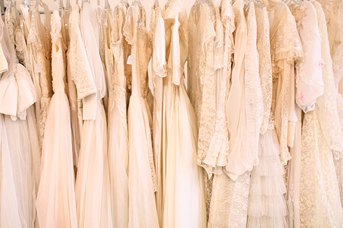 ff7d1b908e What to Know Before You Shop for a Vintage Wedding Dress - Racked NY