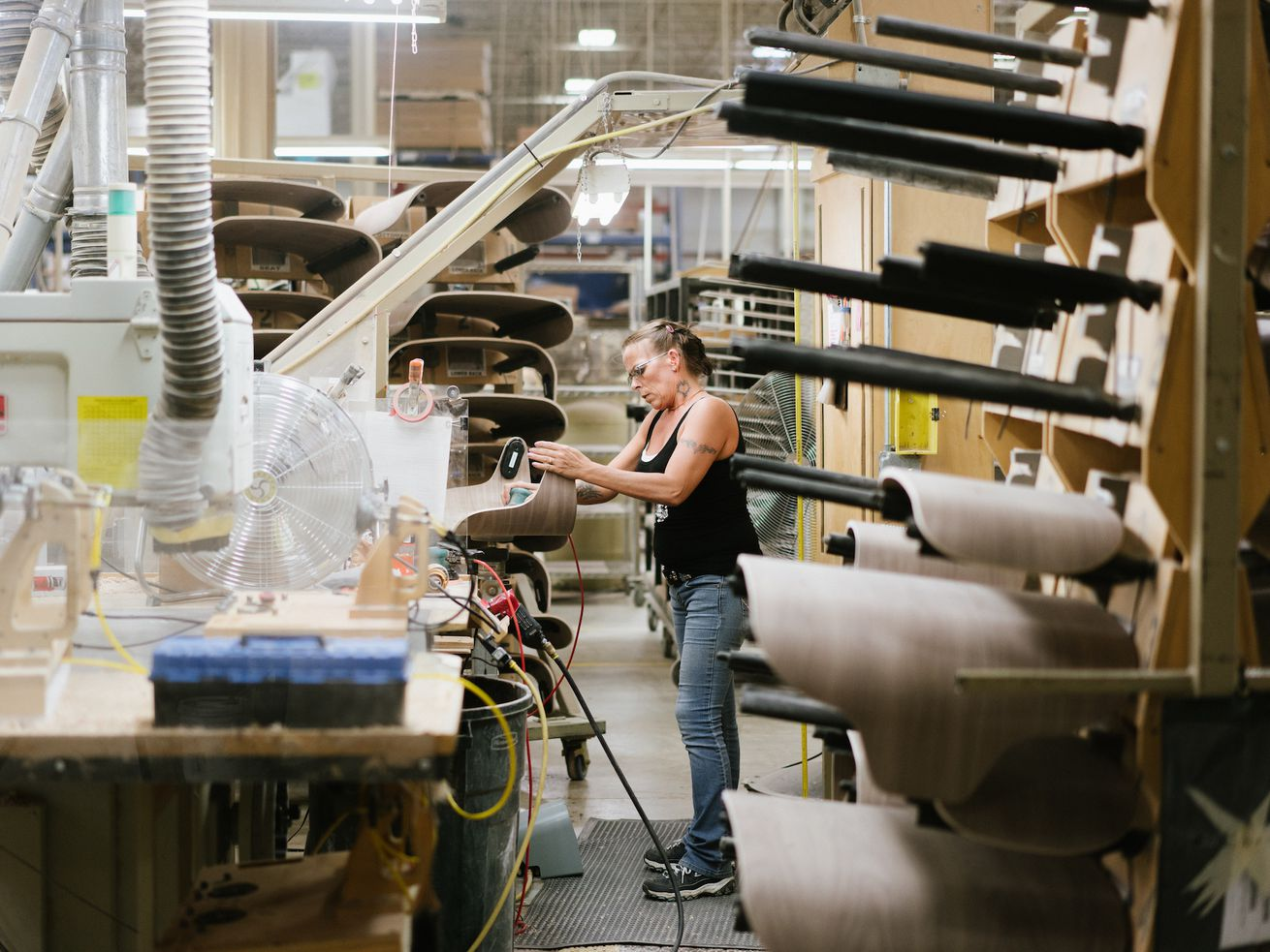 The Michigan-based furniture manufacturer Herman Miller is one of many brands feeling the impact of tariffs.