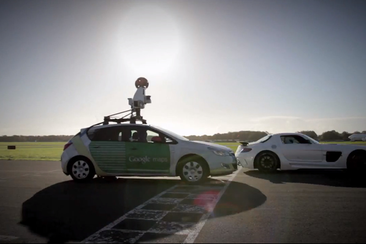Stig vs. Google Street View