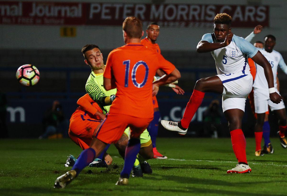 England U20 v Netherlands U20 - International Match