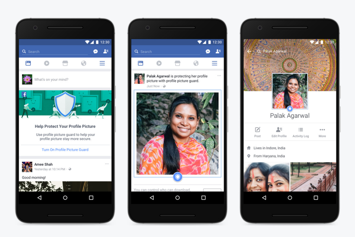 Facebook is introducing new protections for profile pictures for users in  India, in a bid to stop people from copying, sharing, or otherwise misusing  their ...