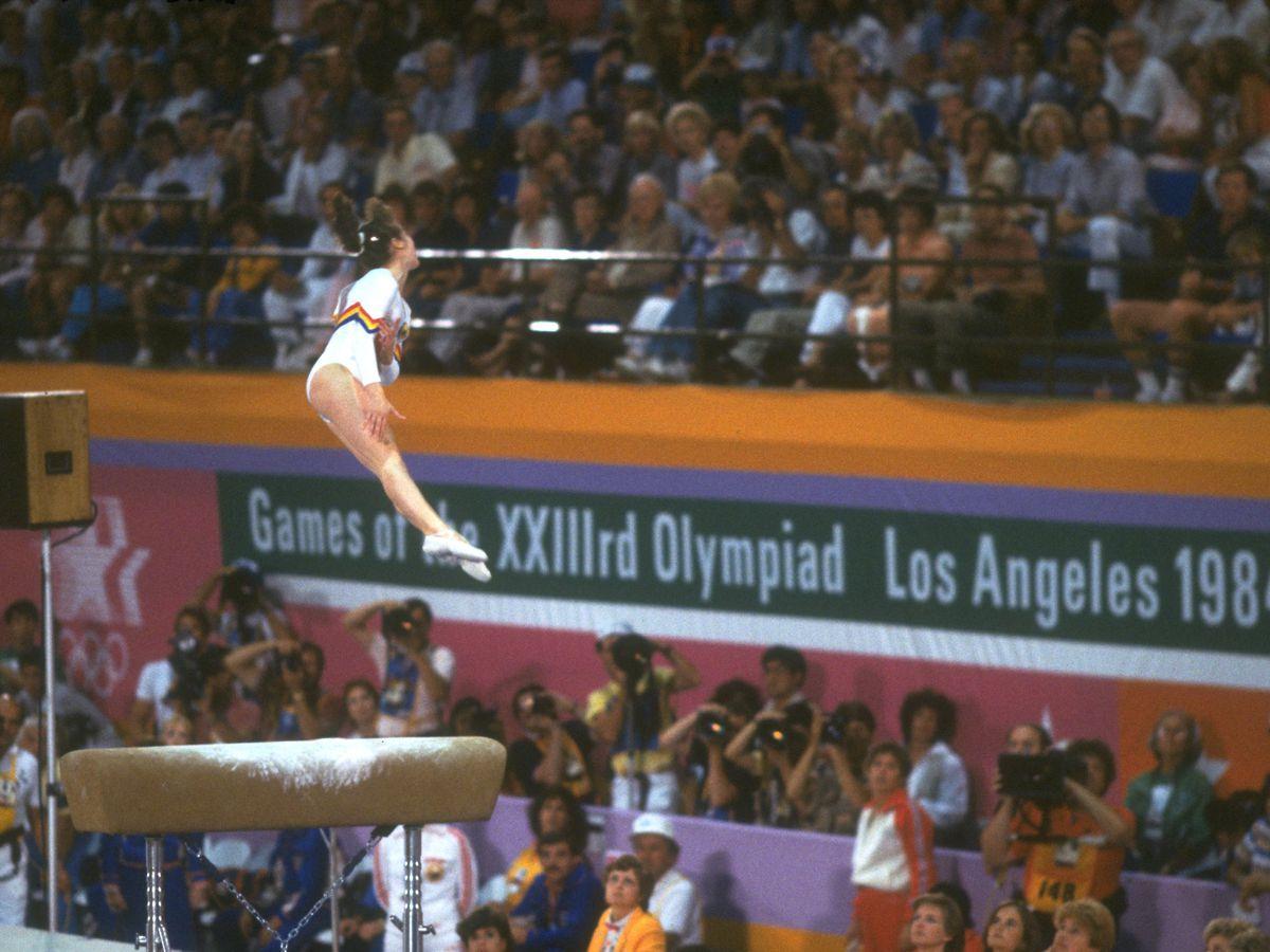Gymnastics 1984 Olympics