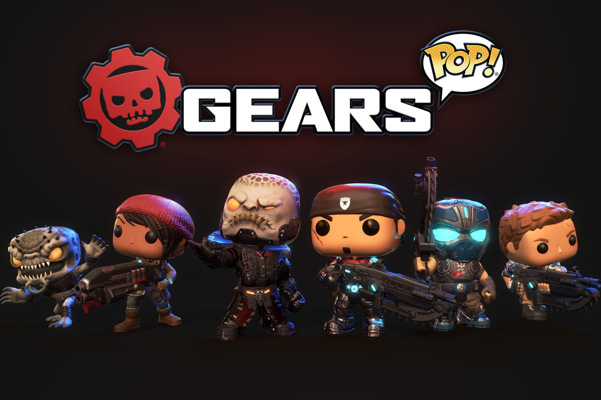 Gears of War is getting a Funko Pop-themed mobile spinoff