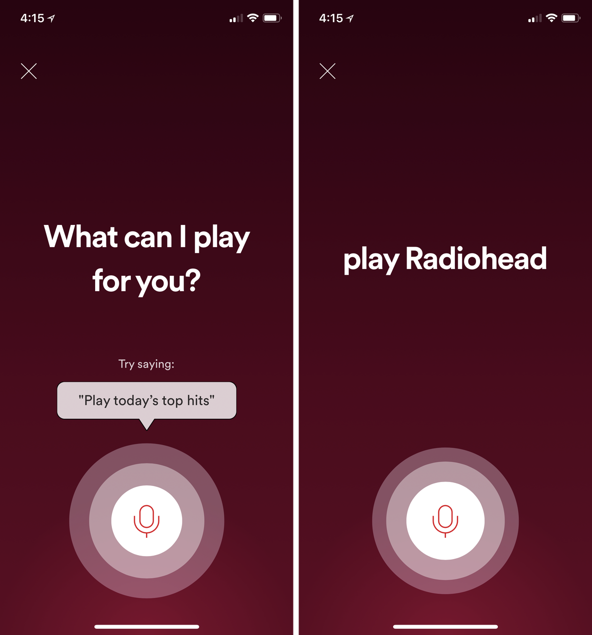 Spotify's experimental voice control feature is an excellent end run