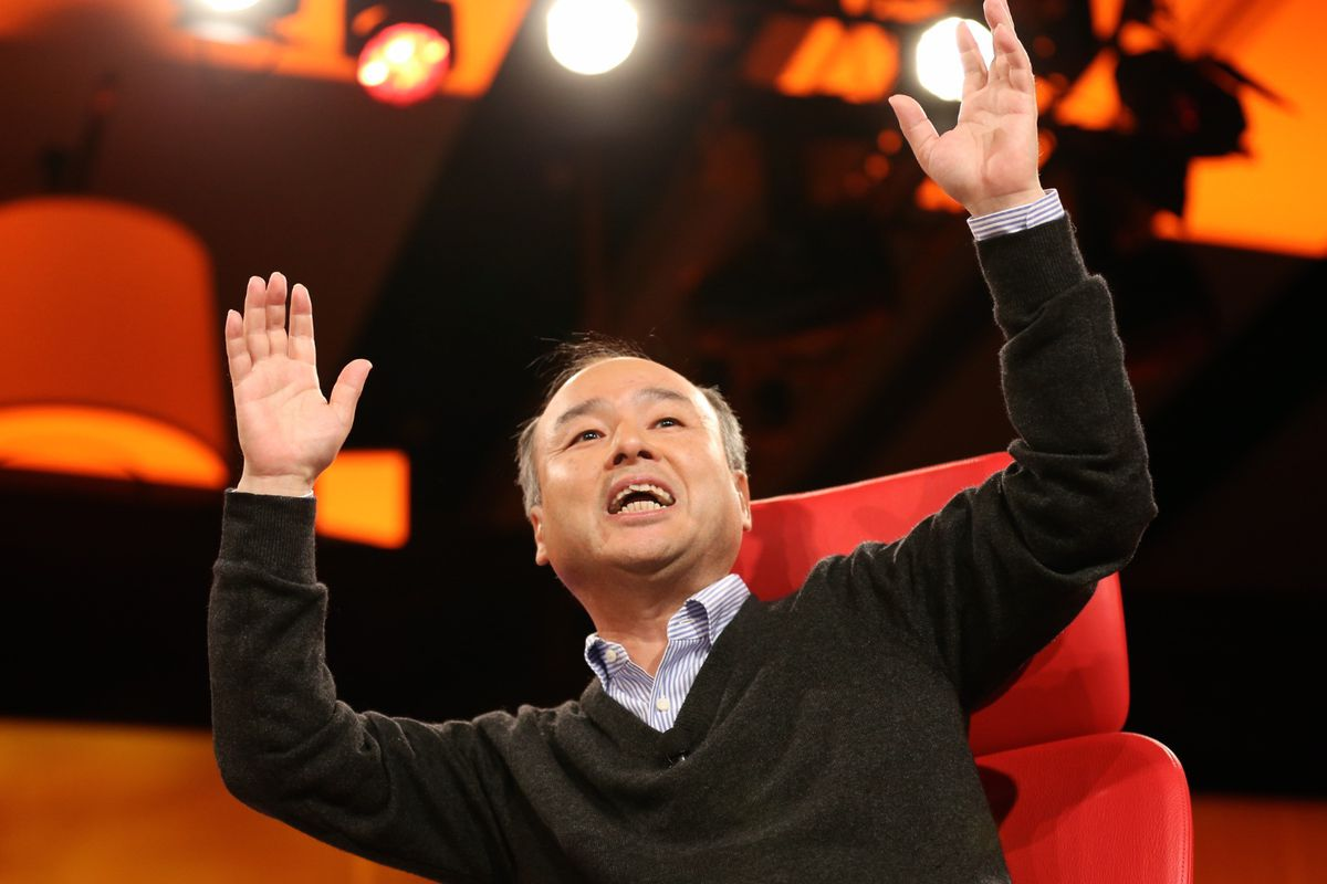 What Quiet Period? Softbank CEO Masayoshi Son Touts Alibaba