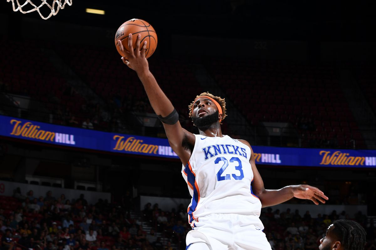 Mitchell Robinson gets named to the Summer League First Team