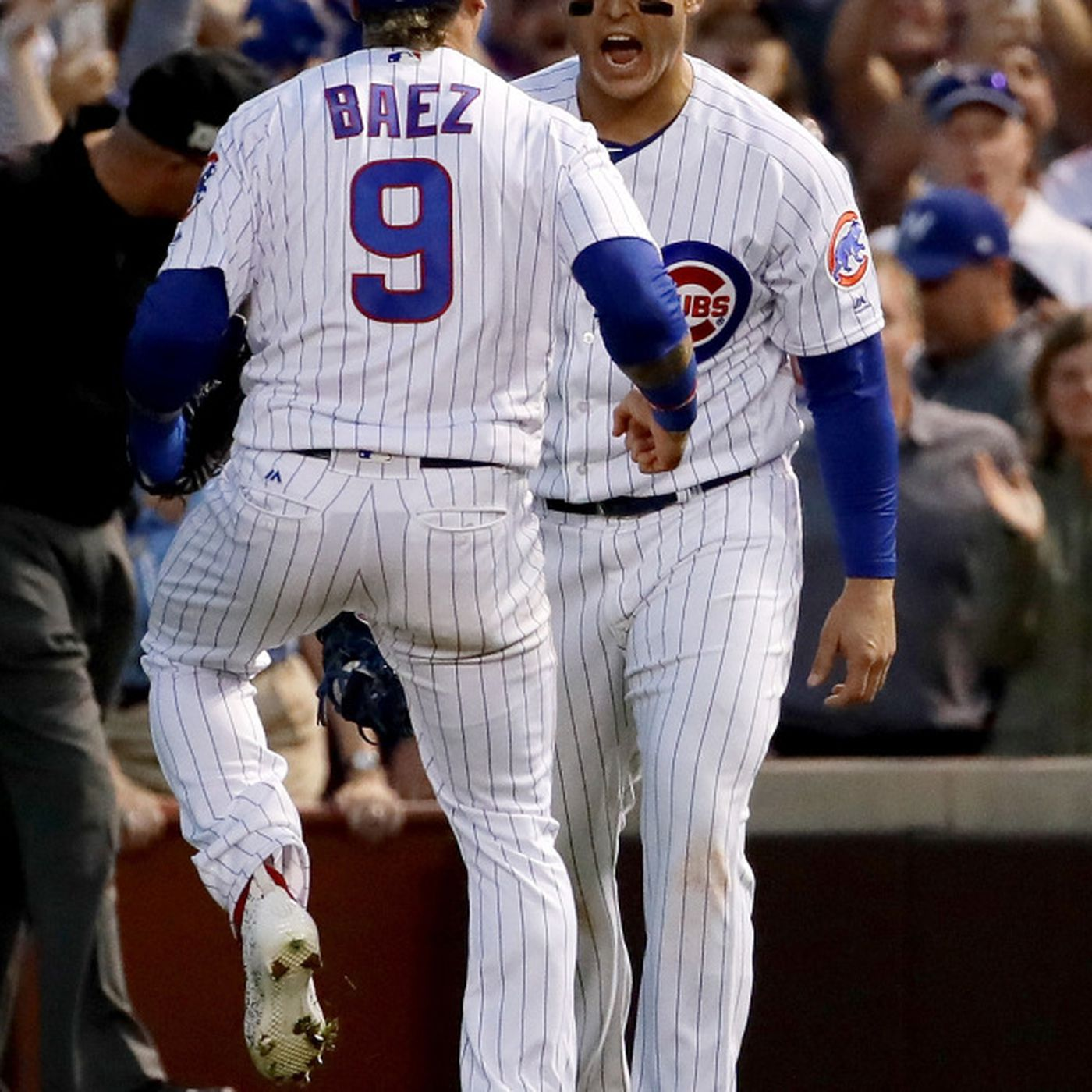 3121e189304 Baez in Cubs lineup for Game 4  Hendricks to start Game 5 if necessary