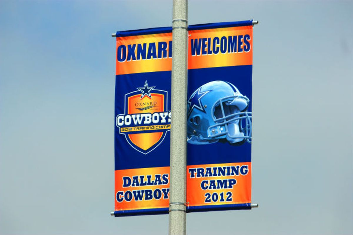 Cowboys training camp starts tomorrow.