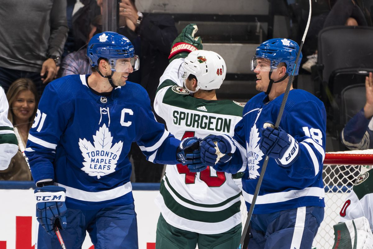 Recap: Hartman's costly penalty was the turning point in 4-2 Wild loss in Toronto