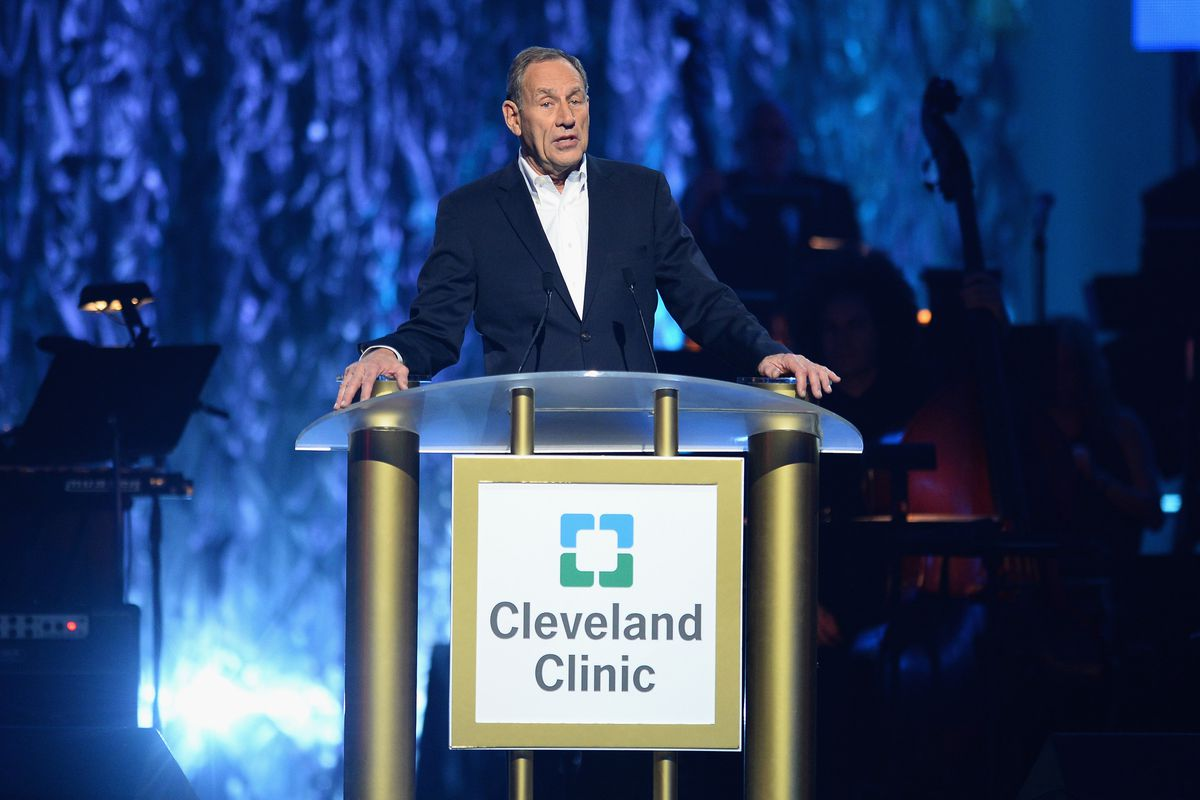 Cleveland Clinic chief executive Toby Cosgrove