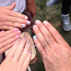 Manicures. [Photo courtesy Andrew Zimmern]