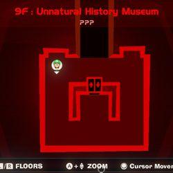 Luigi's Mansion 3 9F blue gem map location