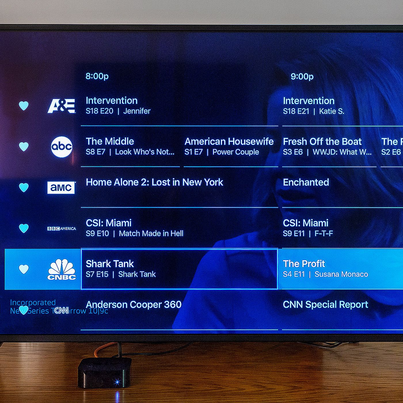 directv now channel guide not working