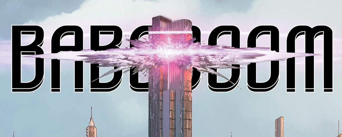 Lex Luthor fakes his own death as LexCorp Tower explodes in Year of the Villain #1, DC Comics (2019).