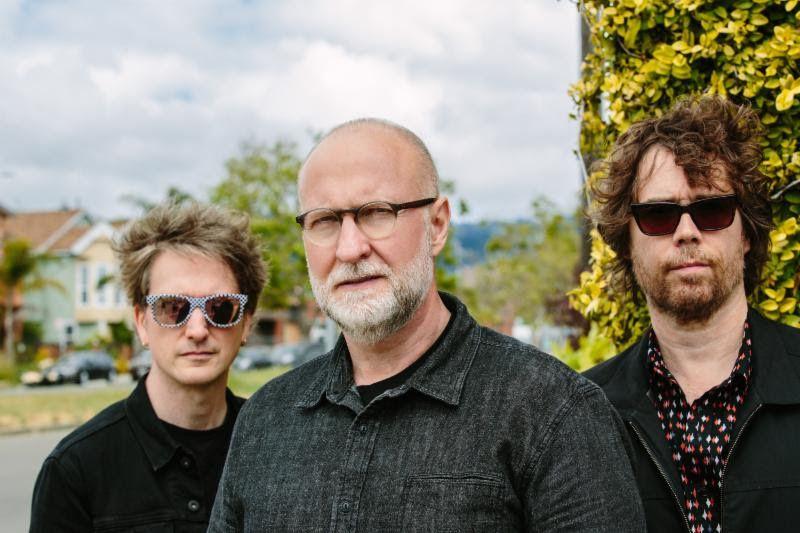 Jason Narducy (from left), Bob Mould and Jon Wurster. | Alicia J. Rose Photo
