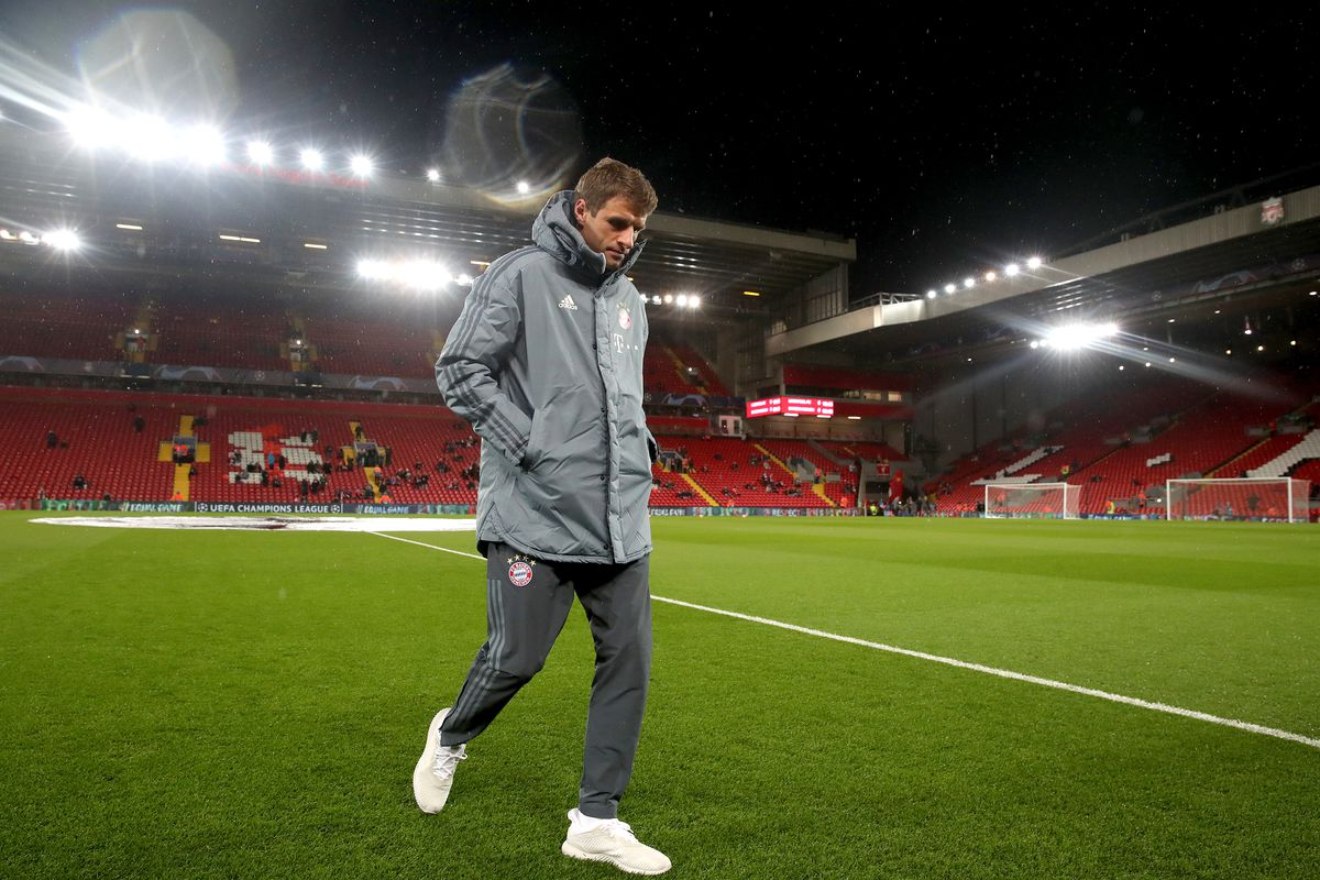Liverpool v Bayern Munich - UEFA Champions League - Round of 16 - First Leg - Anfield