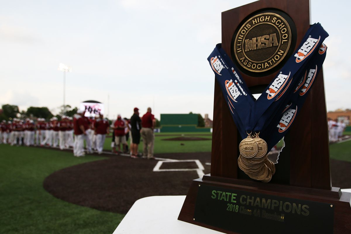 Plainfield North collects the schools first championship as they defeat Huntley in the IHSA 4A baseball state championship game.