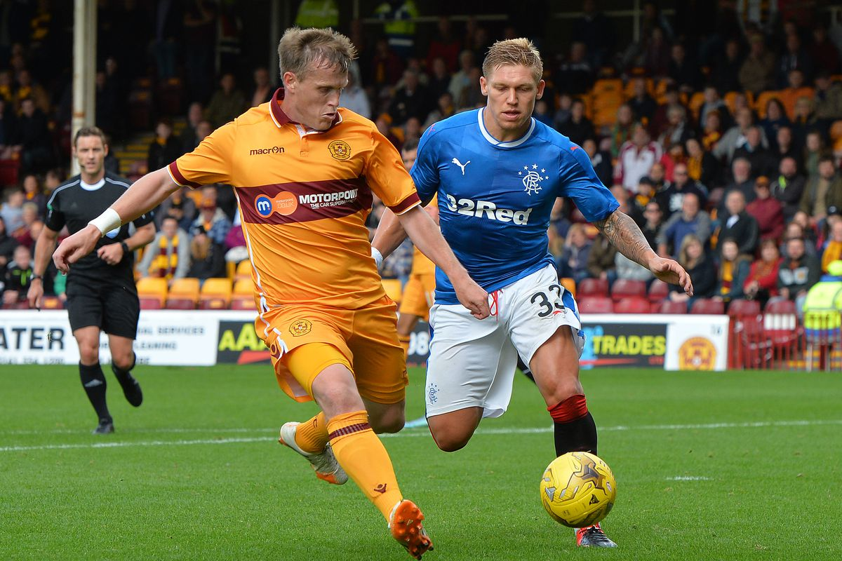 Motherwell v Rangers - Scottish League Cup