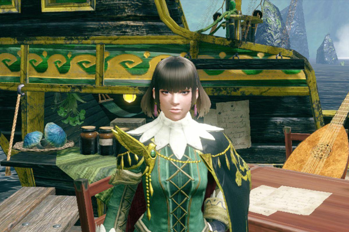 Rondine from The Argosy in Monster Hunter Rise