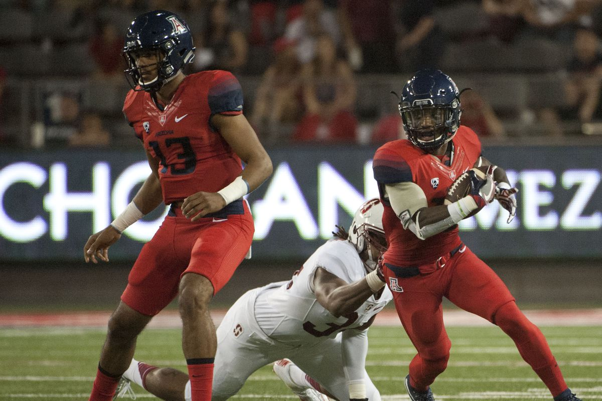 NCAA Football: Stanford at Arizona