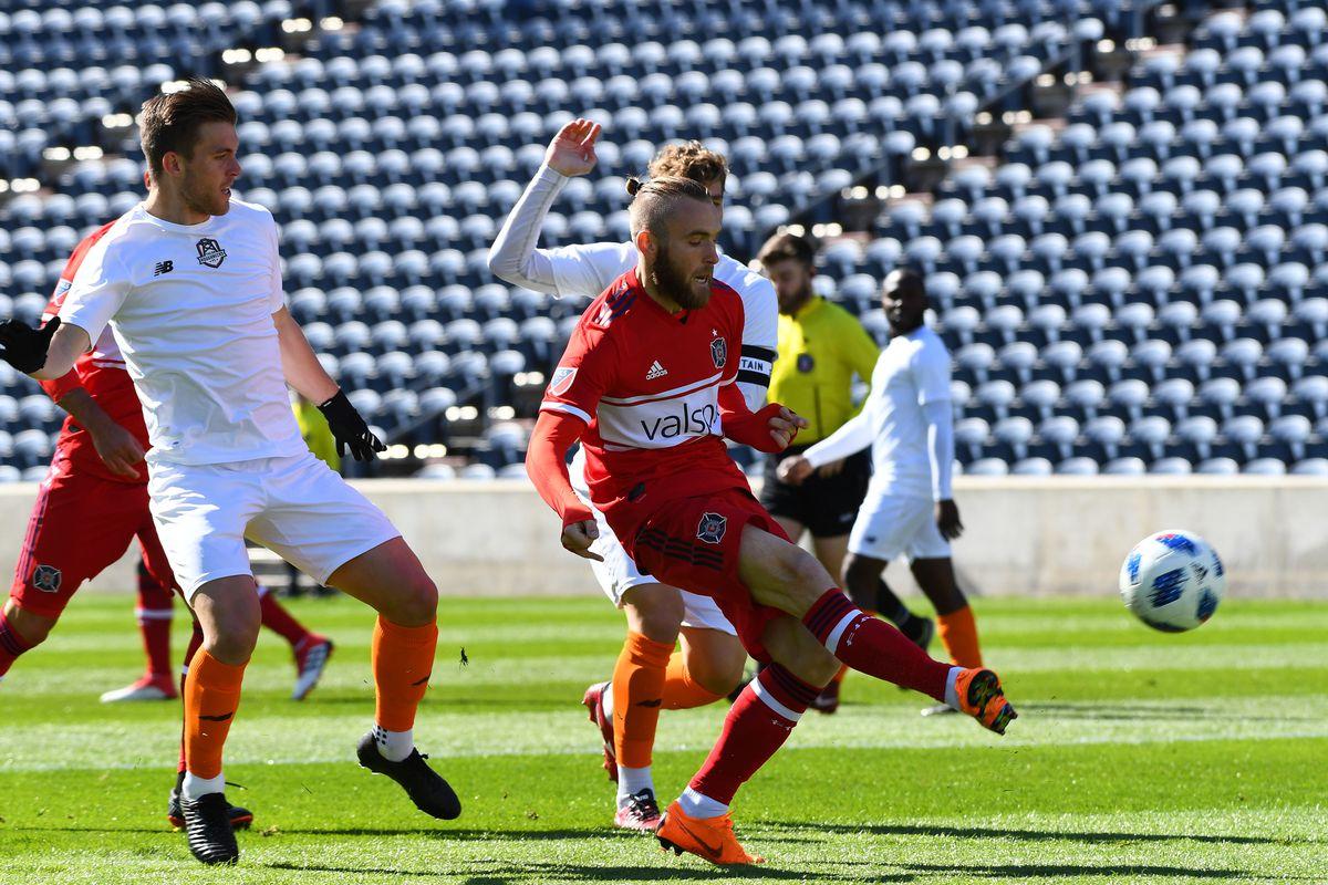 MLS: Preseason Friendly-Tulsa Roughnecks at Chicago Fire