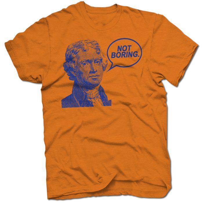 T-Shirt Not Boring B
