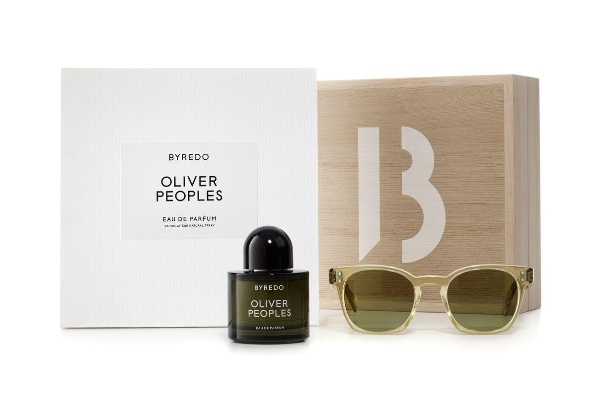 Oliver Peoples x Byredo Box Set, $530