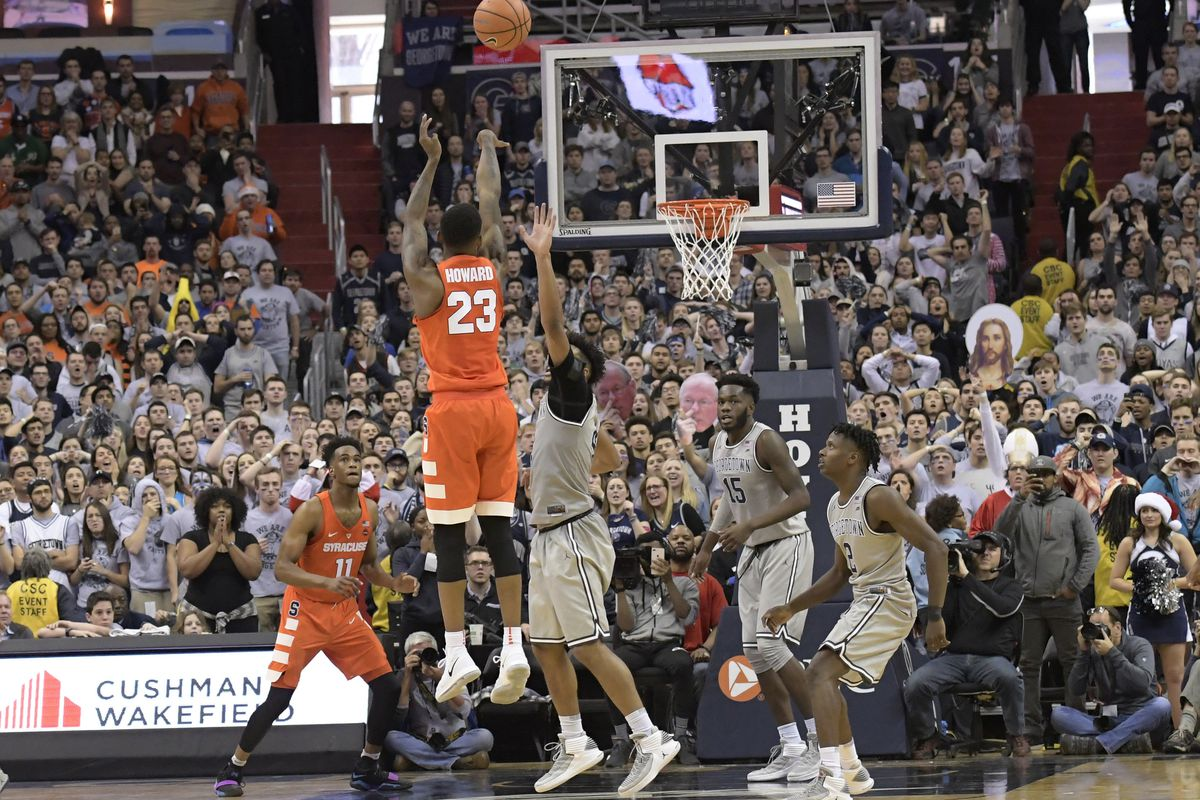 Image result for syracuse georgetown