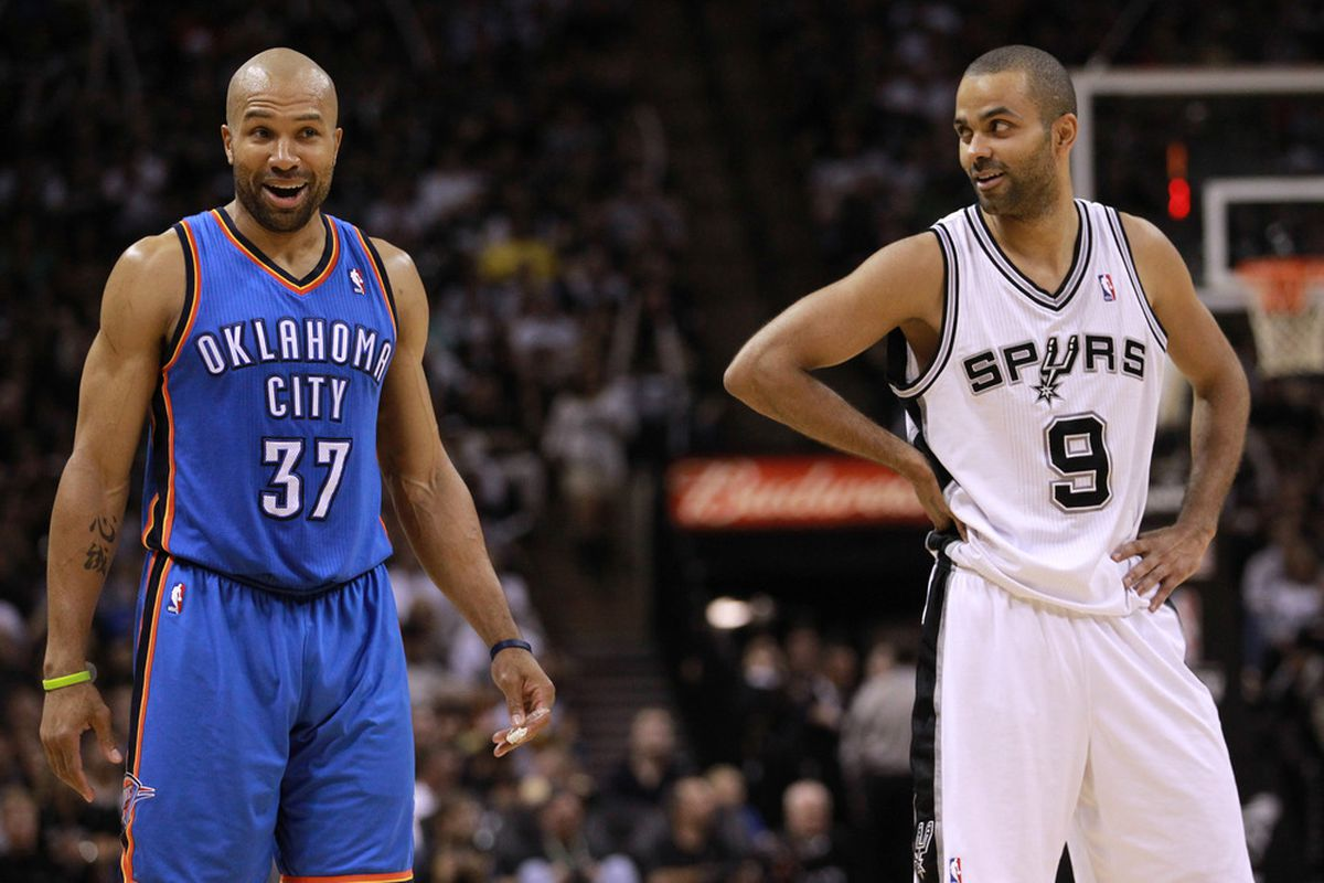 Even Tony Parker was shocked at Derek Fisher's 6-8 shooting from the field during Game 1.
