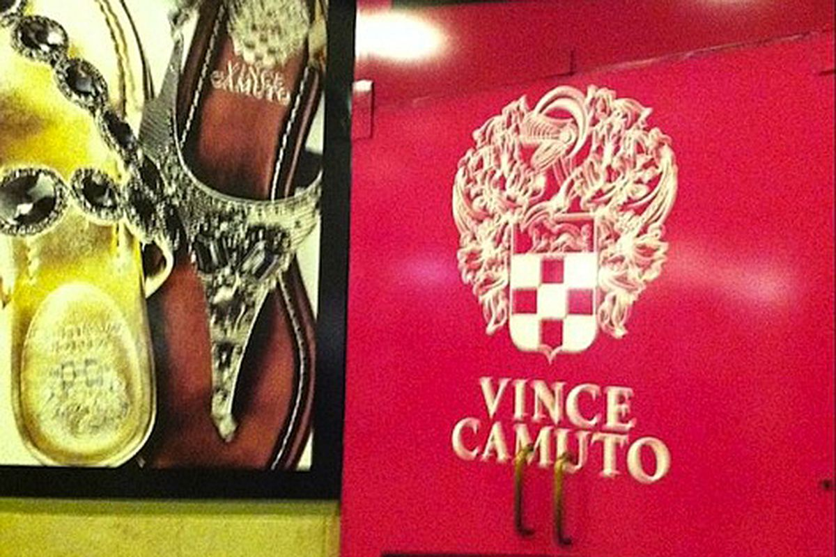"""Vince Camuto flagship in progress via <a href=""""http://twitter.com/#!/VC_stylist/status/101721813133967360/photo/1"""">@VCStylist</a>/Twitter"""