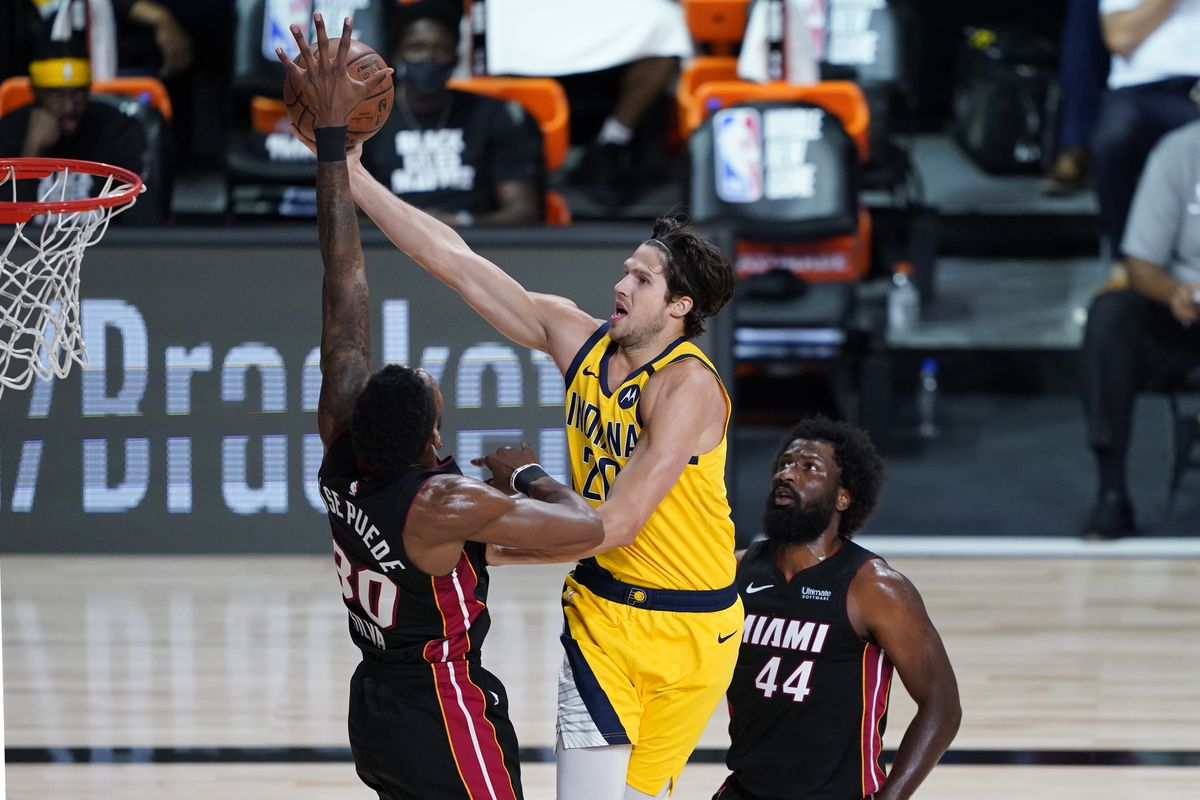 Pacers Final Score Pacers Roll Past Heat 109 92 Indy Cornrows