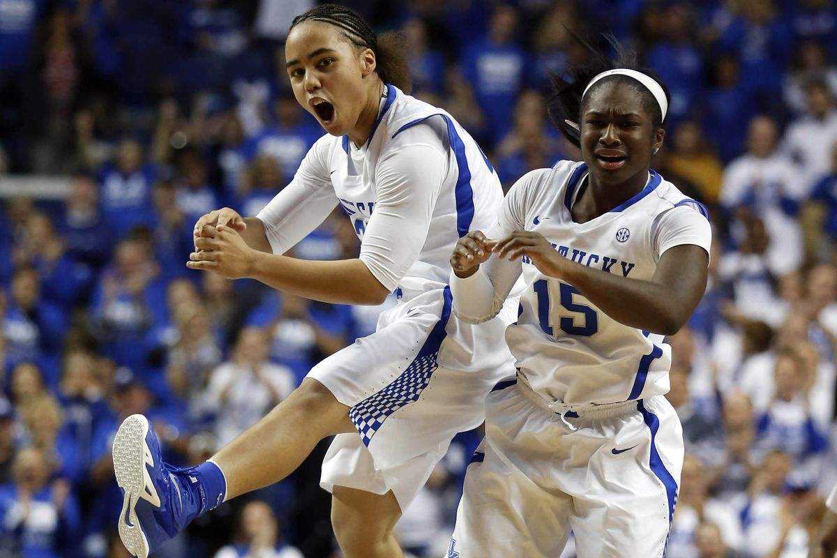 When Makayla and Linnae celebrate like this? Game. Over.