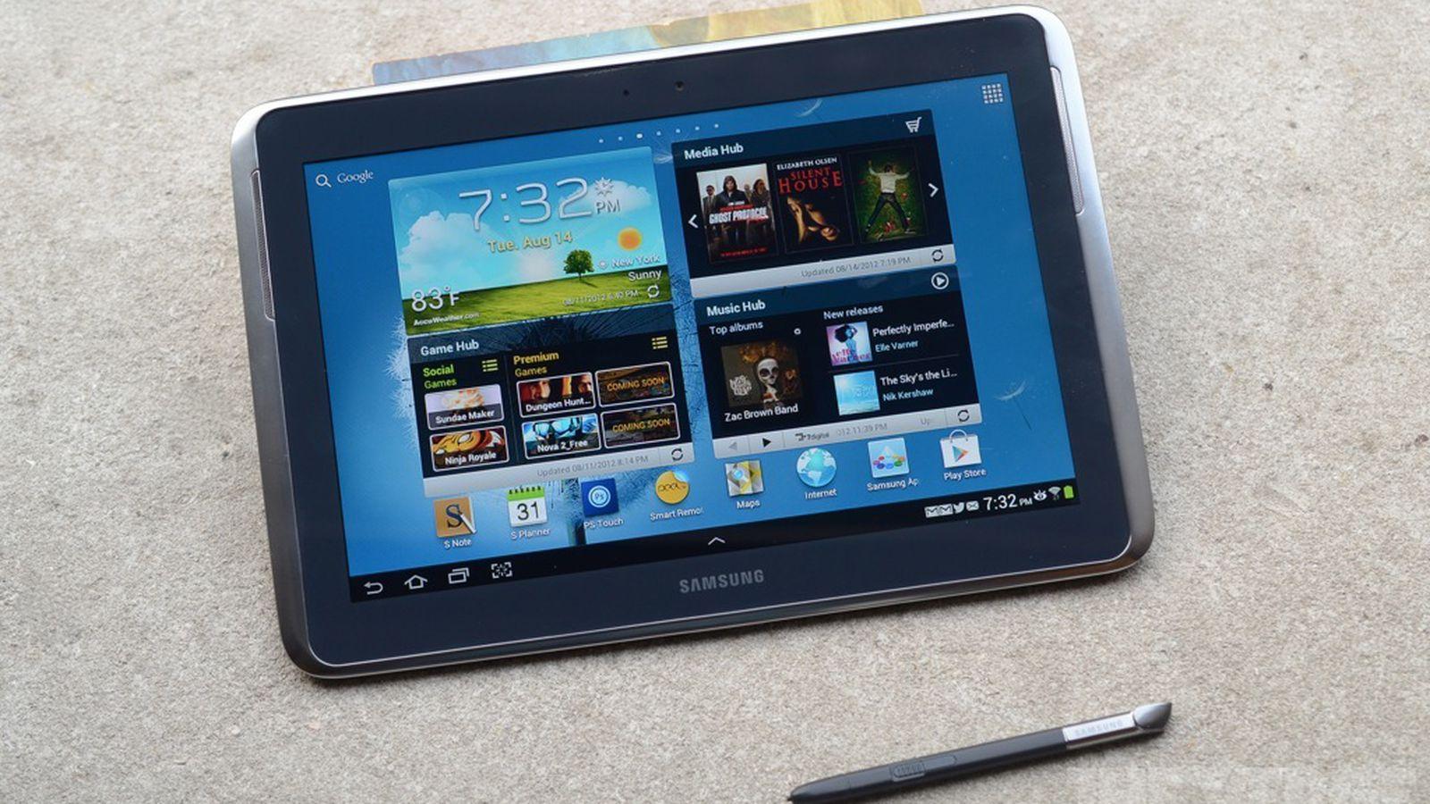 Samsung Galaxy Note 10.1 Hinta