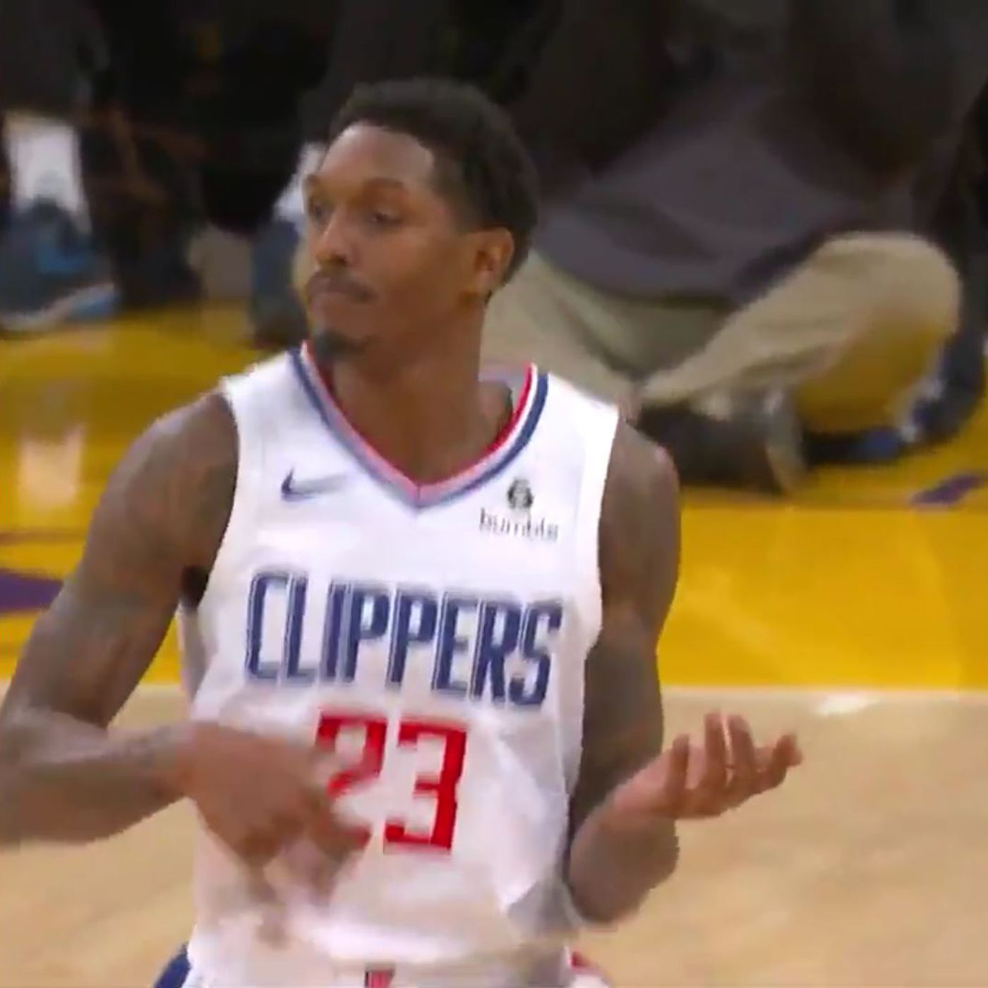 615716389b4 Why Lou Williams strumming an invisible guitar was so cold - SBNation.com