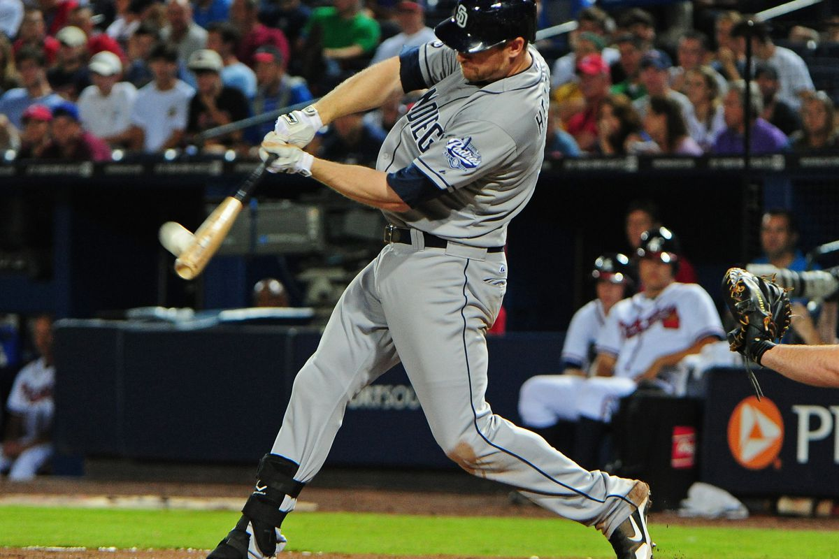 Hopefully we'll see lots of this from Superman Chase Headley tonight.