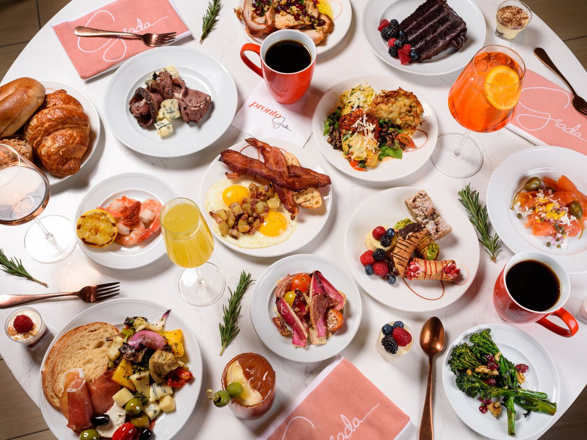 Brunch at Pronto by Giada