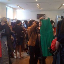 """Inside the notorious <a href=""""http://ny.racked.com/archives/2010/04/15/the_cynthia_steffe_sale_is_a_complete_and_utter_shitshow.php"""" rel=""""nofollow"""">Cynthia Steffe</a> sample sale"""