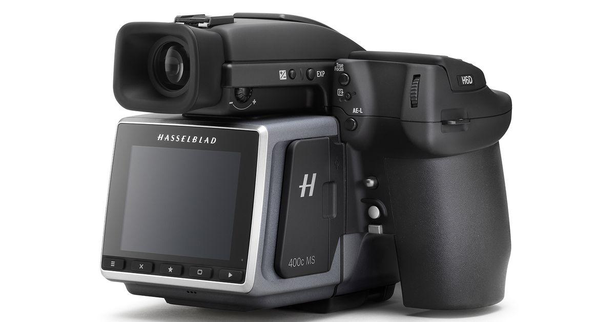 Hasselblad's new 400-megapixel Multi-Shot camera captures 2.4GB stills