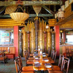 """The """"tiki room"""" as opposed to the other presumably, non-tiki rooms (?)"""