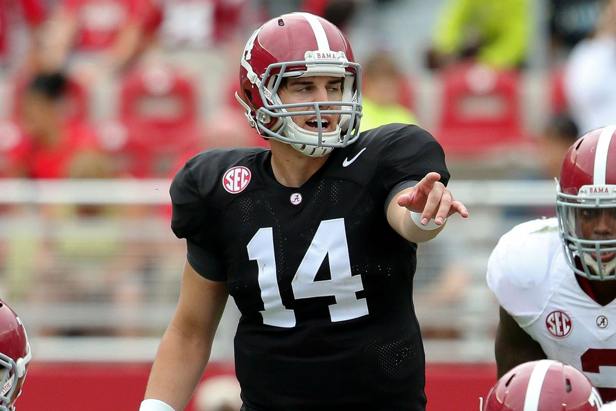 Is Jacob Coker the man to beat as Bama's starting QB?