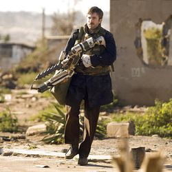 """Sharlto Copley stars as a man who contracts a mysterious alien virus in """"District 9."""""""