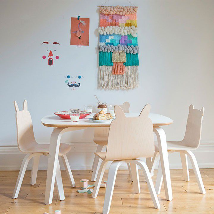 Play Table 269 Rabbit And Bear Chair 226 Set Of 2 Oeuf