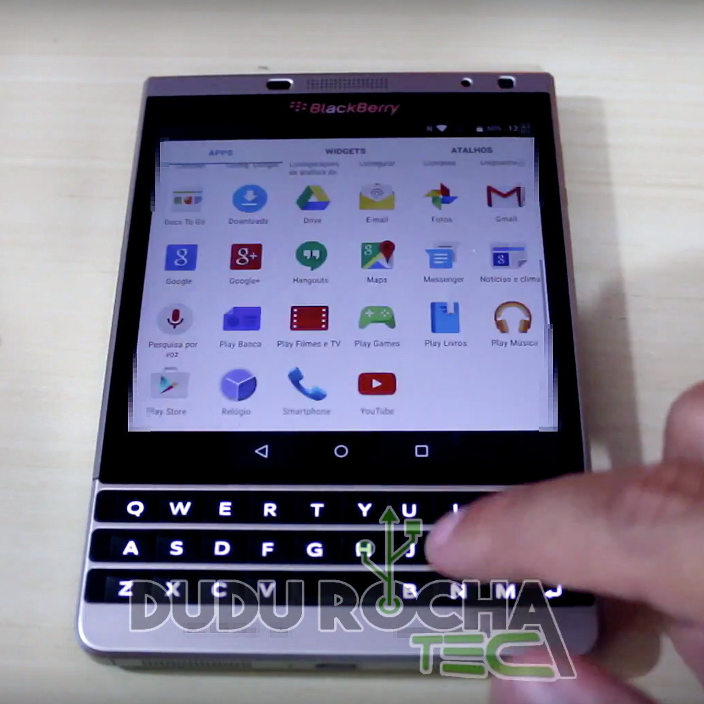 BlackBerry Passport shown running Android in new video - The Verge