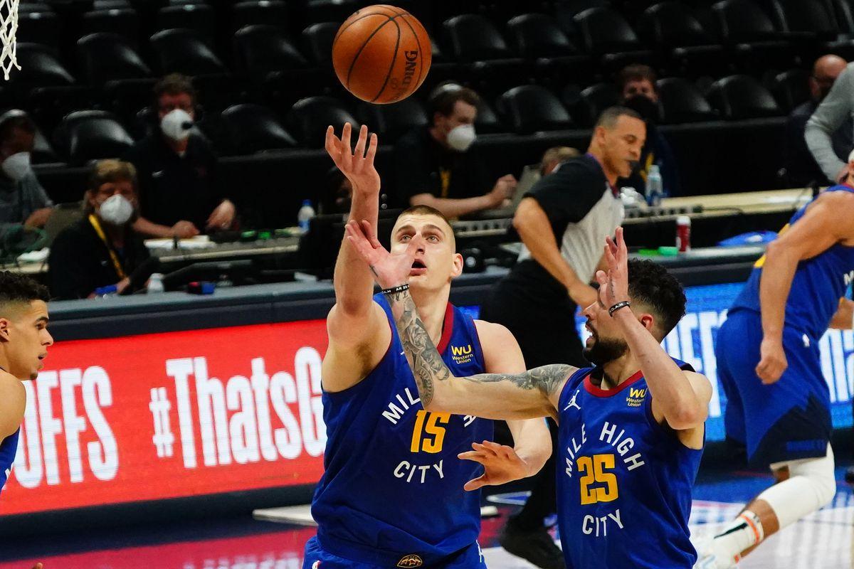 NBA: Playoffs-Portland Trail Blazers at Denver Nuggets