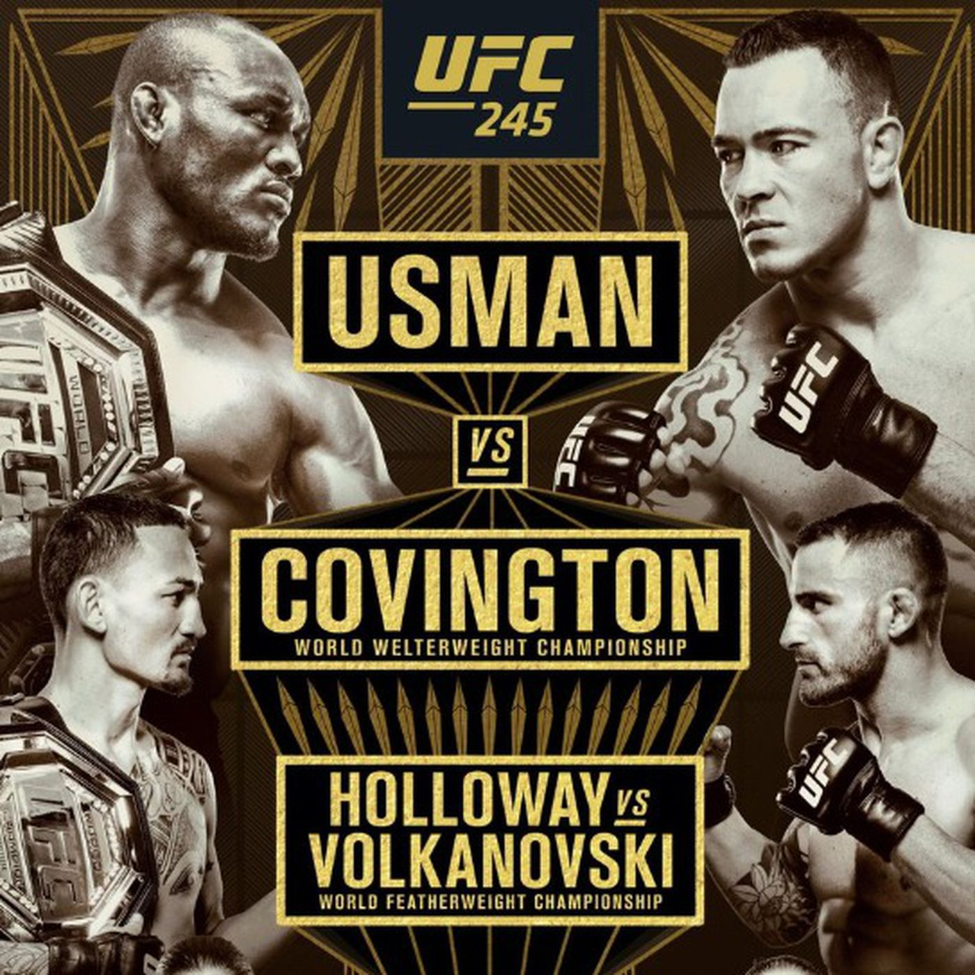 Watch Ufc 245 Kamaru Usman Vs Colby Covington Live Stream
