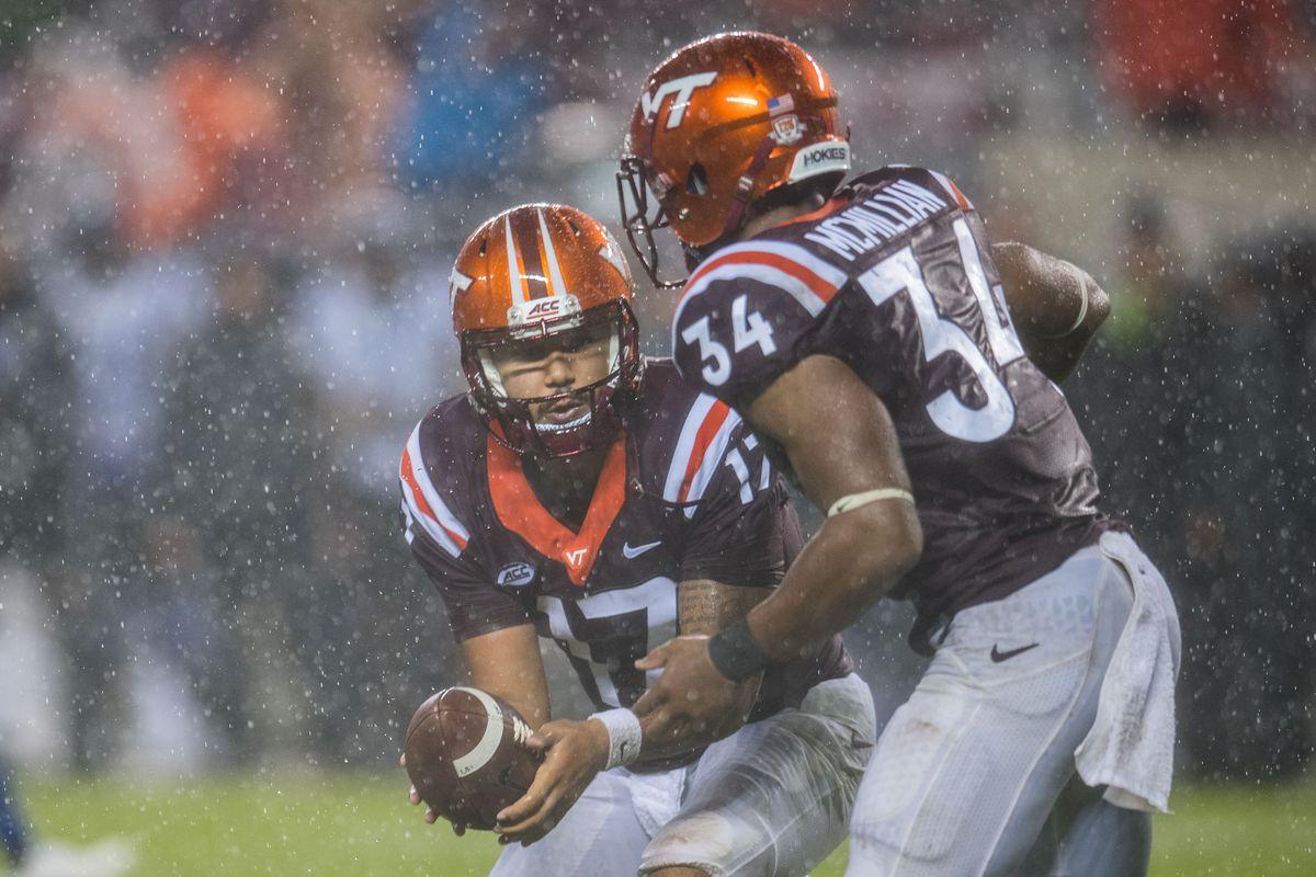 NCAA Football: Duke at Virginia Tech