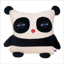 "Stuffed panda pillow, <a href=""http://tabletopdc.com/kids/cool-kids-stuff"">$76</a> at Tabletop"