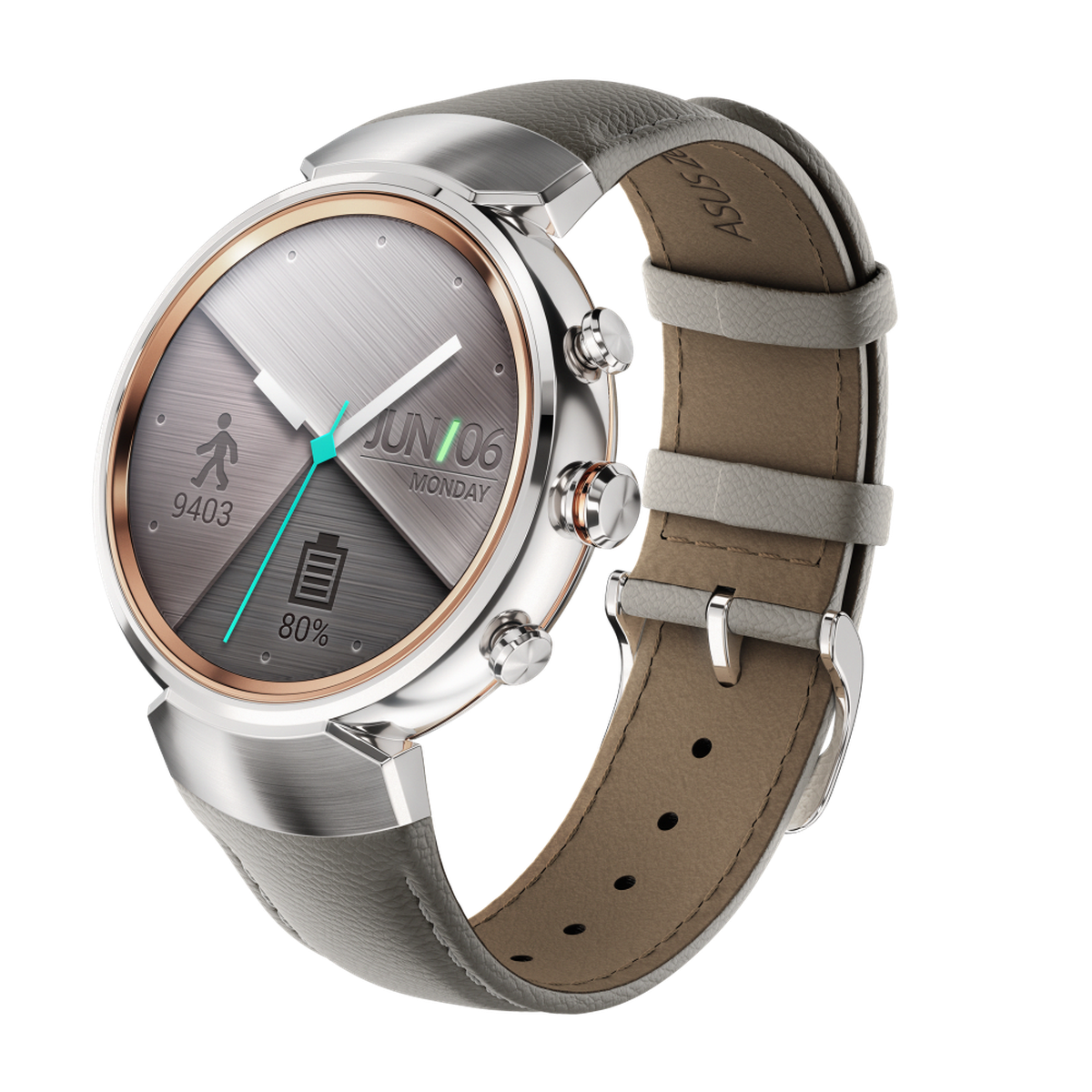 Asus' ZenWatch 3 looks way better than the first two